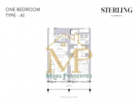 Sterling-1Bed-A1-FP-1