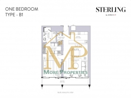 Sterling-1Bed-B1-FP-1