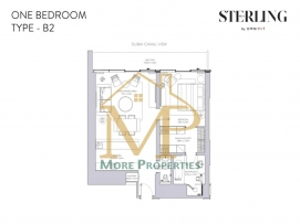 Sterling-1Bed-B2-FP-1