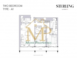 Sterling-2Bed-A1-FP-1