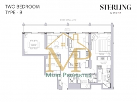 Sterling-2Bed-B-FP-1